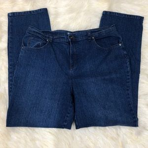 Style & Co. Natural Fit Dark Blue Jeans 16